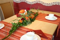 Tisch-Dekoration : Gesteckschale 25 cm lang