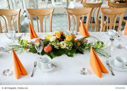 Tischgesteckschale für Blumen, 22 cm, 2 Stück