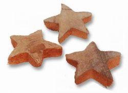 Kokosnuss-Sterne, natur, 25 Stck