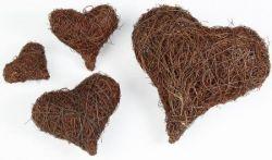 Reben-Herz, 10 cm, 2 Stck