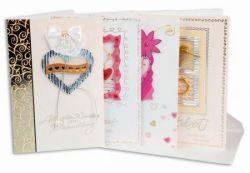 Hochzeitskarten, versch. Motive, 8 Stck